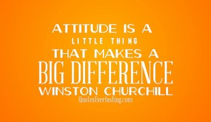 Attitude is a Choice